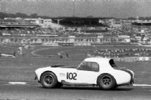 Shelby Cobra 427 (CSX 3006) Chequered Flag Brands Hatch 1966 Chris Irwin
